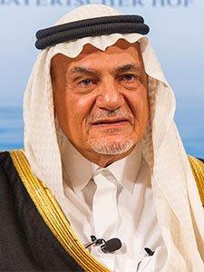 HRH Prince Turki bin Faisal al Saud