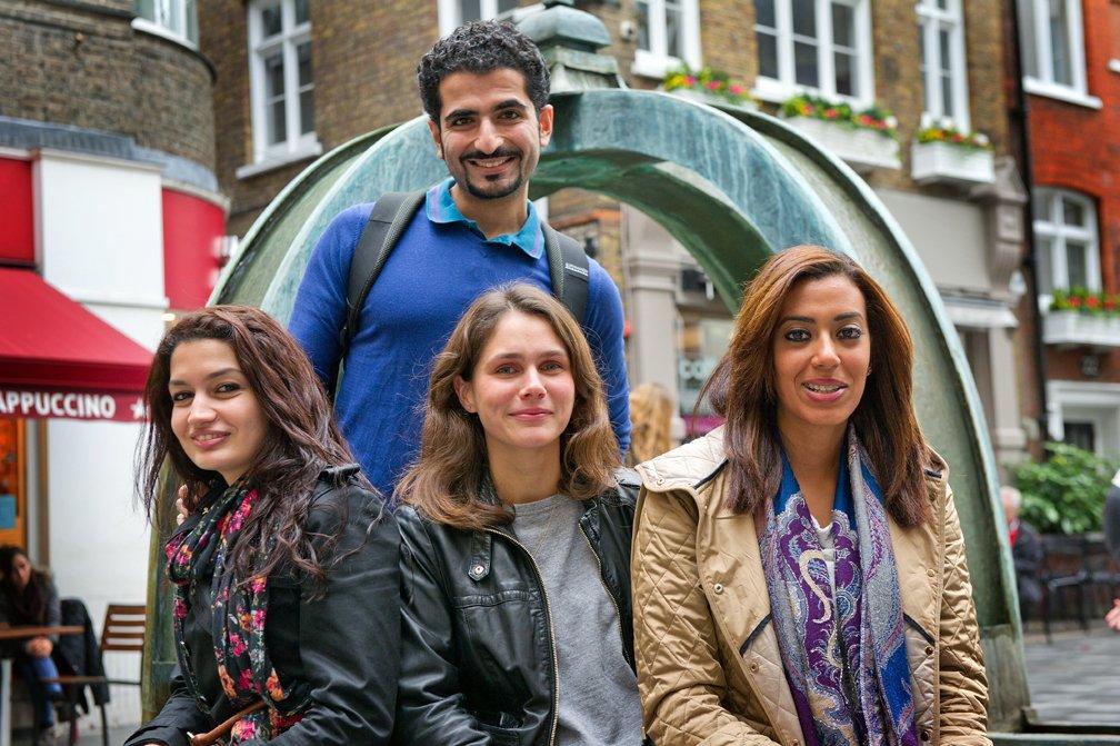 Saudi Students in London